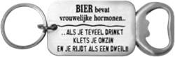 Flesopener Bier bevat vrouwlijke hormone