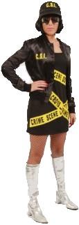 Dameskostuum CSI Girl