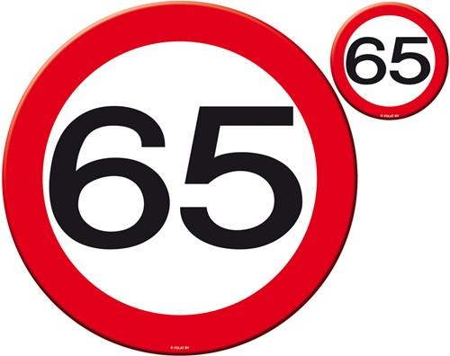 Placemats + Onderzetters 65 jaar