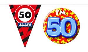 Decoratie & Versiering 50 jaar
