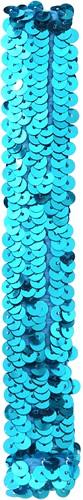 Pailletten Hoofdbandje Turquoise