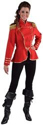 Damesjas Uniform Rood