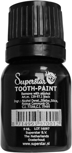 Tandenlak Zwart 9ml