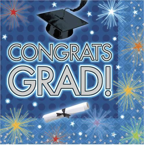 Servetten Congrats GRAD