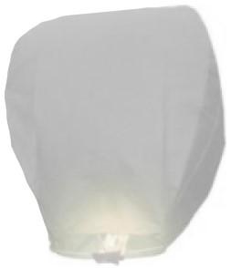 Wensballon Wit (75x38cm) Biologisch Afbreekbaar!