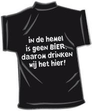 Mini-shirt Hemel geen bier