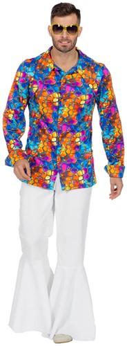 Disco Shirt Stained voor heren