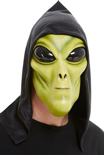 Masker Alien met Kap