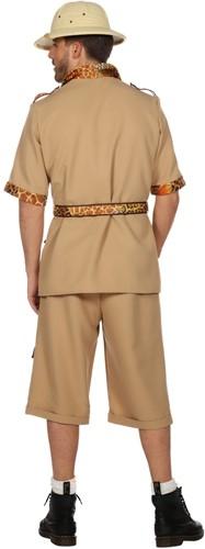 Safari Pak voor heren (achterkant)