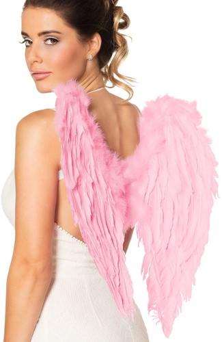 Engelen Vleugels Roze (50x50cm)