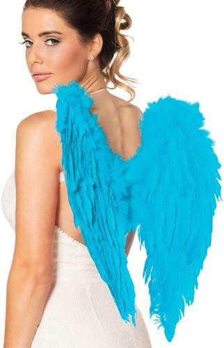 Engelen Vleugels Turquoise (50x50cm)