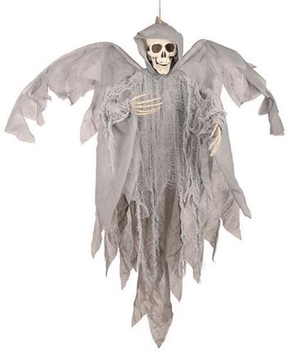 Hangdecoratie Skull Vleugels (90cm)