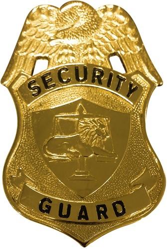 Insigne Security Guard Goud