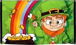 Vlag St. Patricks Day (90x150cm)