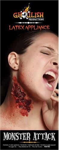 Professionele Latex Wond FX - Monster Attack