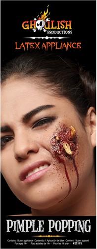 Professionele Latex Wond FX - Pimple Popping