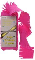 Crepeguirlande Pink 5 mtr.