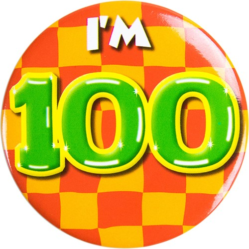 Button 100 jaar
