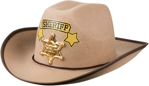 Sheriff Cowboyhoed voor kinderen