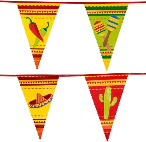 Vlaggenlijn Fiesta Mexico 6m