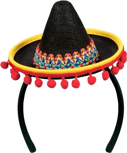 Diadeem Mini Sombrero Mexico