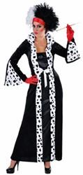 Jurk Cruella Dalmatiers