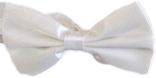 Strikje Satijn Luxe Wit