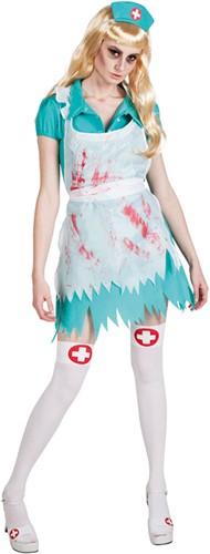 Dameskostuum Zombie Bloody Nurse