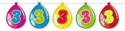 Ballonnen Vlaggenlijn 3 Jaar (10m)