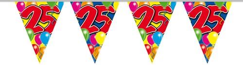 Vlaggenlijn 25 jaar 10mtr