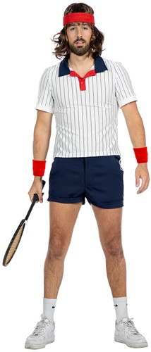 Retro Tennis Outfit Heren
