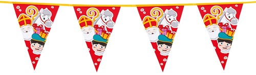 Vlaggenlijn Sint & Piet (6m)