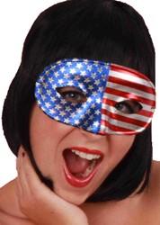 Oogmasker Domino Amerika/USA