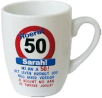 Mok Hoera 50 jaar Sarah!