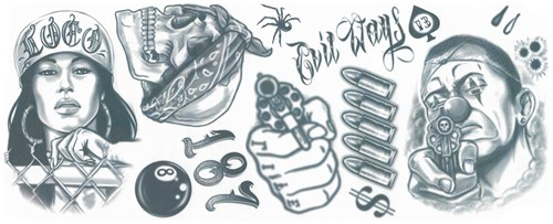 Thug Life Tattoos