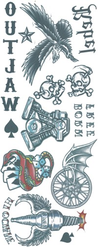 Outlaw Biker Tattoos