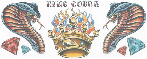 Nek Tattoo Cobra