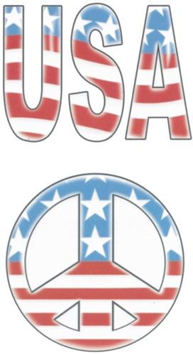 Tattoo USA Peace