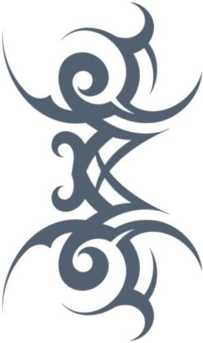 Tattoo Tribal Stamped