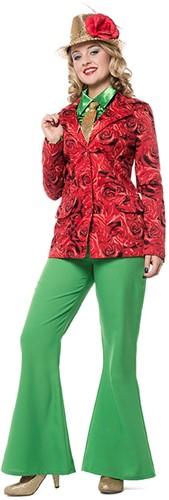 Damescolbert Rode Rozen Luxe