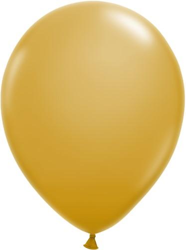 Ballonnen Klein 5inch 100 stuks Goud