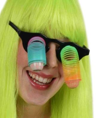 Spiraal bril goofy