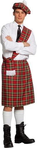 Kostuum Schot Rood 3dlg