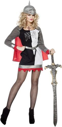 Dames Ridderjurkje Zwart-Wit