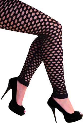 Legging met Gaten Zwart Luxe (Naadloos)