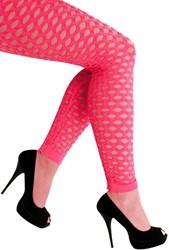 Legging met Gaten Neon Pink Luxe (Naadloos)