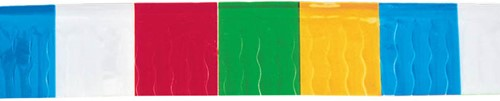 Franje Vlaggenlijn 25mtr Multi-coloured
