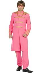 Herenkostuum Sergeant Pepper Pink