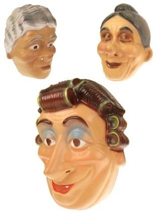 Masker Oma Plastic Assorti