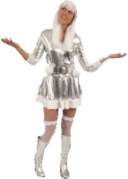 Eskimo Girl Silver